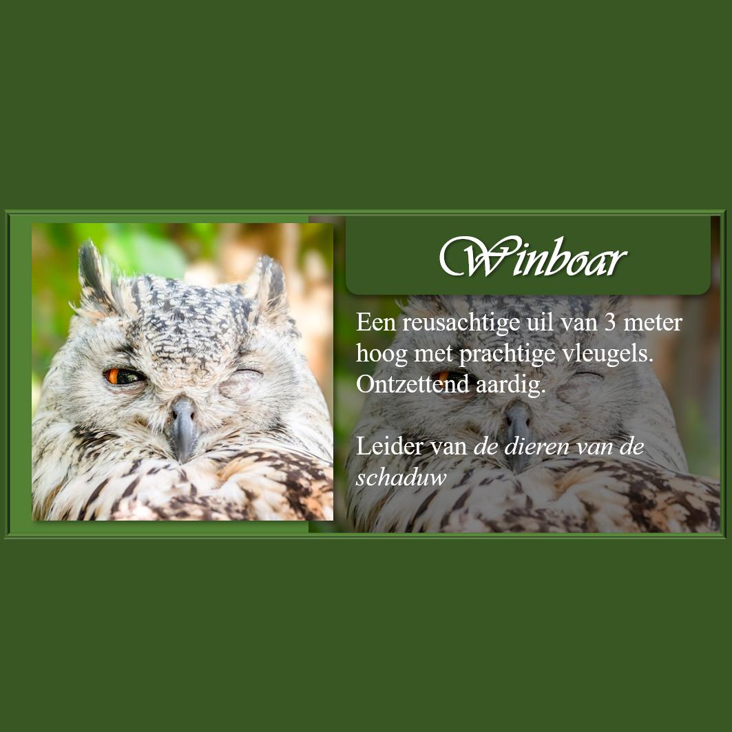 Personagekaart Winboar