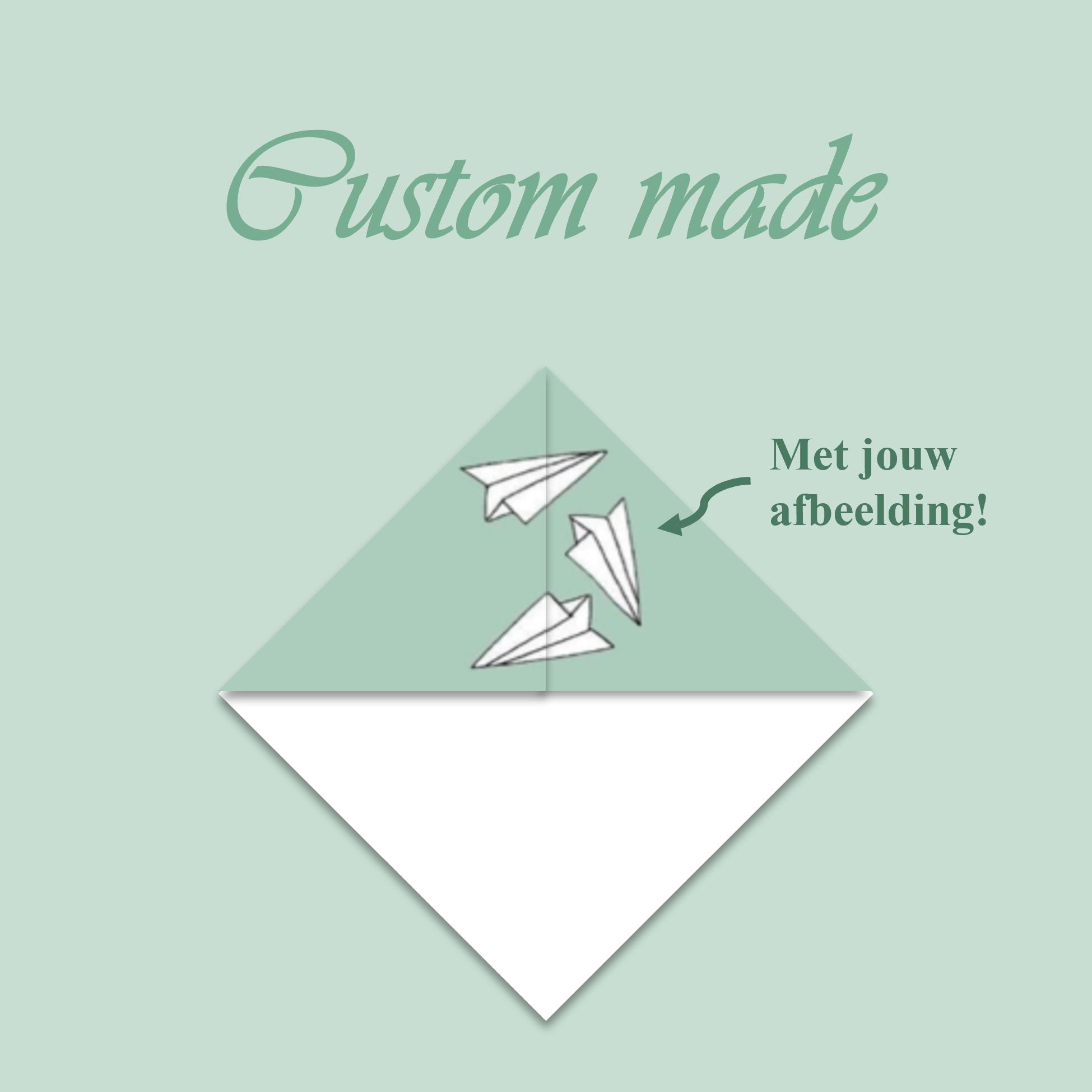 Custom made driehoekje